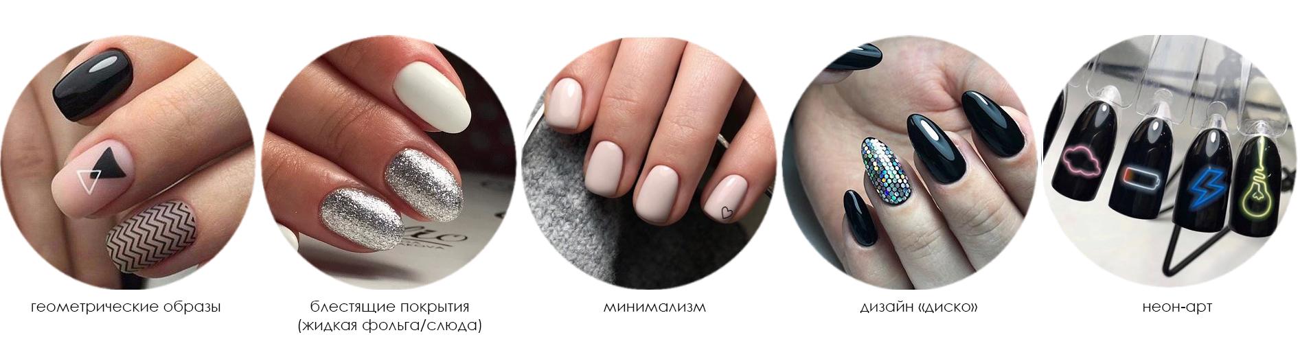 Новые идеи маникюра и дизайна ногтей