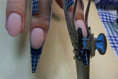 Зажимы для наращивания ногтей
