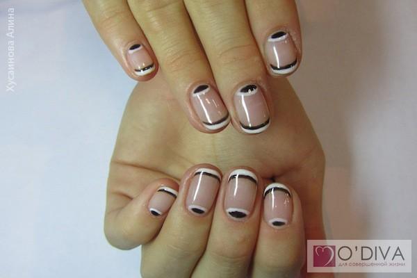 Дизайны ногтей мастер класс видео