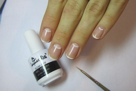 Дизайн ногтей черным гель лаком