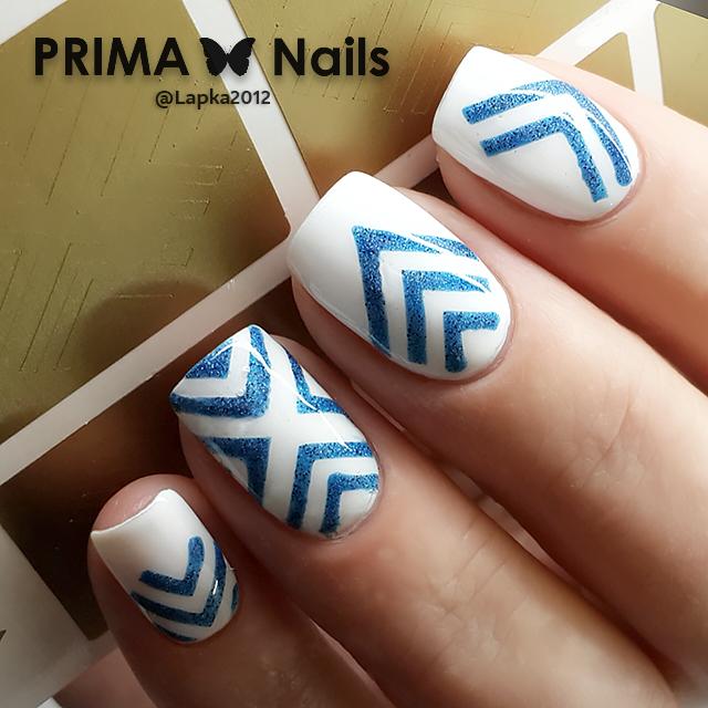 Дизайн ногтей с уголками