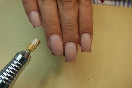 Как в домашних условиях спилить ногти