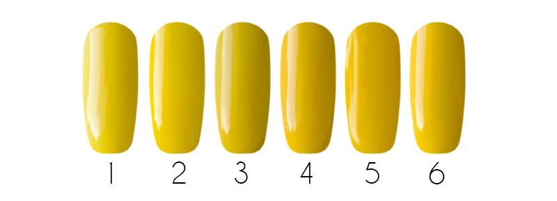 Желтая примула оттенок 2017 spring весна модный маникюр