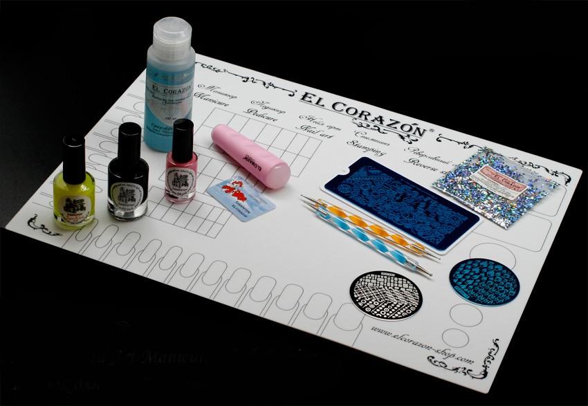 коврик для дизайна ногтей