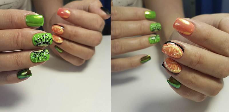 Радужная втирка для ногтей Единорог  пошаговый дизайн с новинкой ... f017abb867f