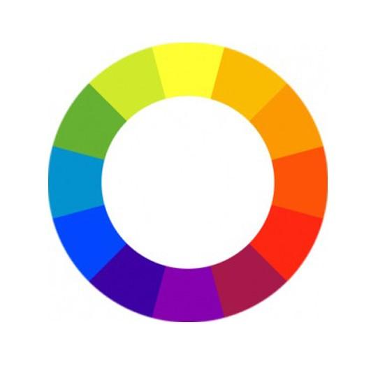 цветовой круг модные цвета 2017