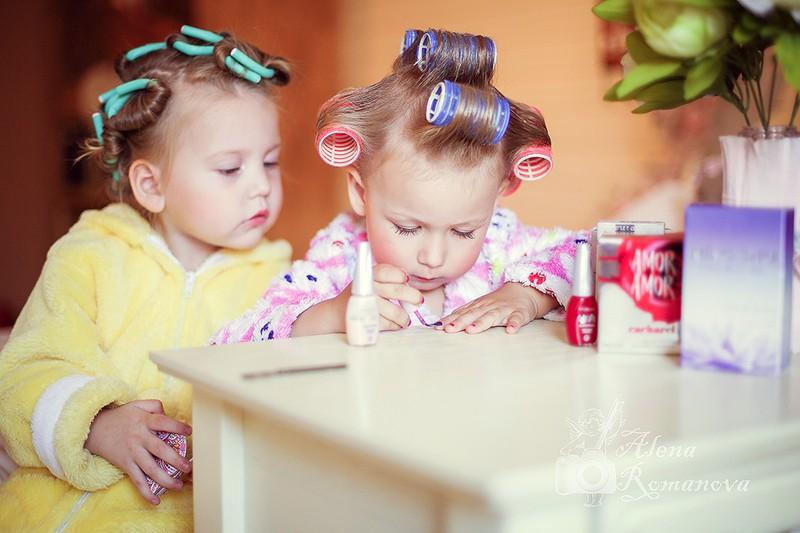 как красить ногти детям, девочкам