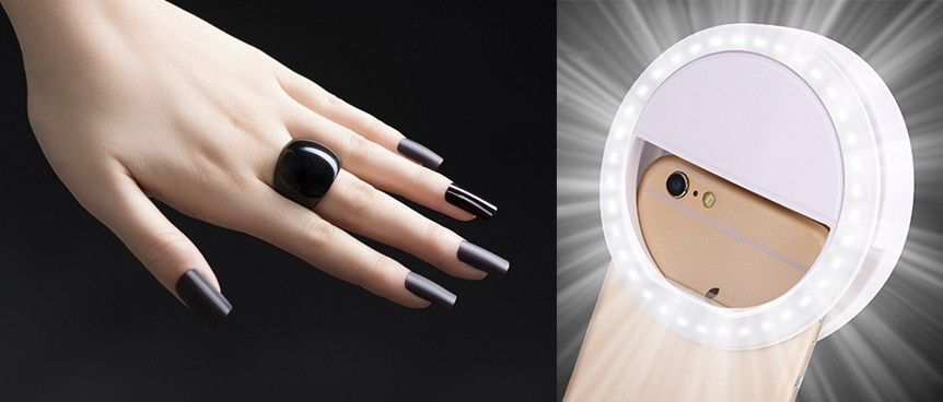 лампа для селфи маникюра, селфи ногтей