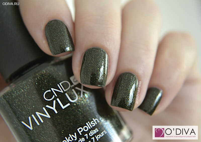 CND Vinylux Pretty Poison #127 и CND Vinylux Weekly Top coat