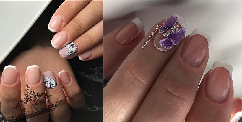 лепка, маникюр, дизайн ногтей, гель-краска