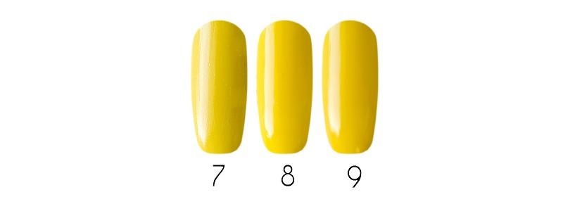 Весна 2017 модный маникюр желтый yellow