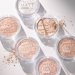 Catrice, All Matt Plus Shine Control Powder - пудра компактная (001 Universal прозрачный)