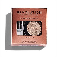Makeup Revolution, Flawless Foils - тени и праймер (Rebound)