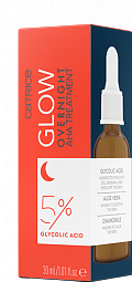 Catrice, Glow Overnight AHA Treatment - сыворотка для лица
