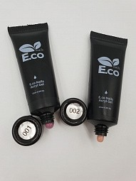 E.Co Nails, Polygel - полигель в тубе (№1), 15 гр