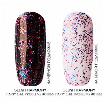 Gelish Harmony, гель-лак (Party Girl Problems 01865), 15 мл