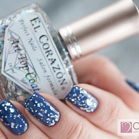 EL Corazon Art top coat - декоративный топ (Фейеверк/Fireworks №421/8), 16 мл