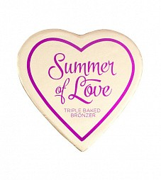 "I heart makeup, Blushing heart - бронзер ""Summer of Love"""