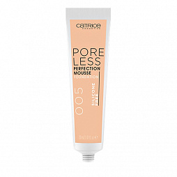 Catrice, Poreless Perfection Mousse Foundation - мусс тонирующий (005 Warm Ivory айвори), 30 мл