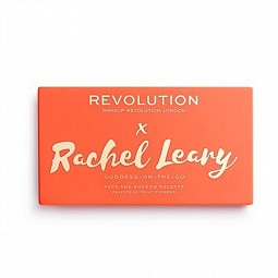Makeup Revolution, R.Leary Goddess-On-The-Go Face And Shadow Palette - палетка д/макияжа