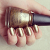 China Glaze, лак для ногтей (Goldie but goodie), 14 мл